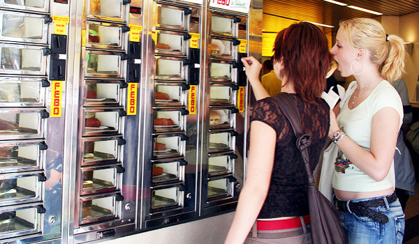 Le distributeur automatique de sandwich