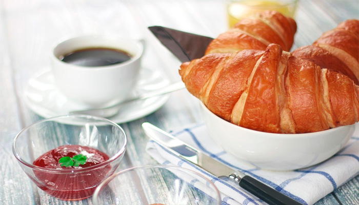 café croissant