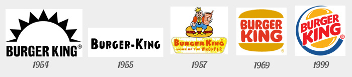 les logos Burger King