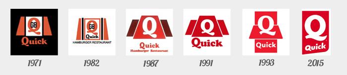 les logos Quick