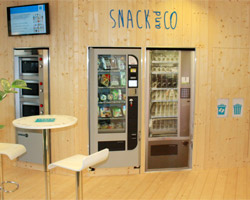 Snack and Co, la distribution automatique