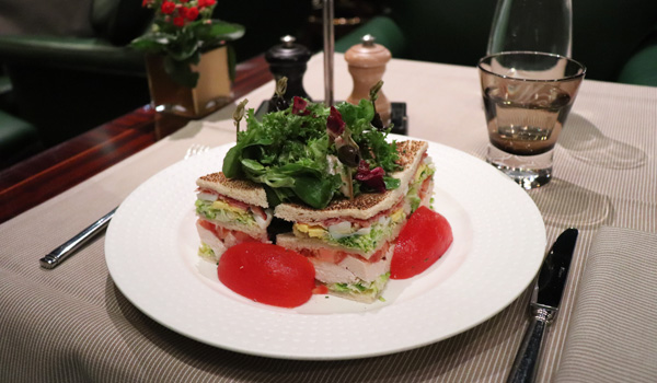 Le club-sandwich du Westminster