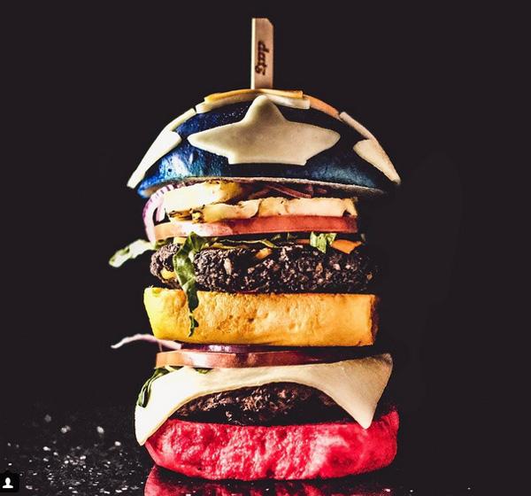 Burger Wonder Woman