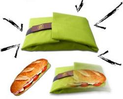 l 39 emballage sandwich r utilisable. Black Bedroom Furniture Sets. Home Design Ideas