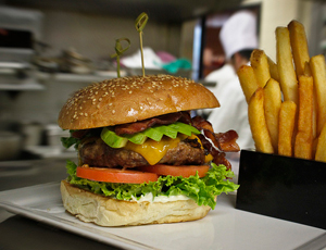 Le hamburger a conquis 75% des restaurants