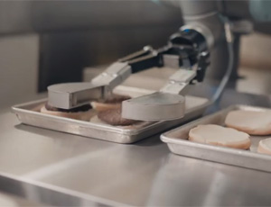 Le Robot Flippy Vise La Parfaite Cuisson Des Burgers
