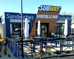 Subway ouvre son 3ème drive en France