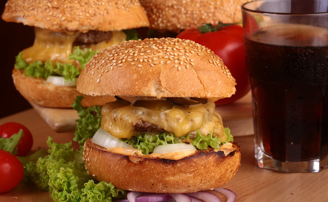 Burger au 2 fromages