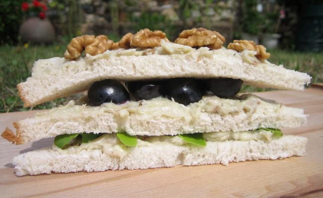 Pain de mie campagnard recette de sandwich au roquefort - Recette sandwich pain de mie ...