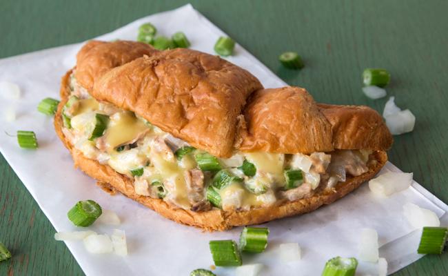 croissant au thon recette de sandwich au thon c leri mayonnaise. Black Bedroom Furniture Sets. Home Design Ideas