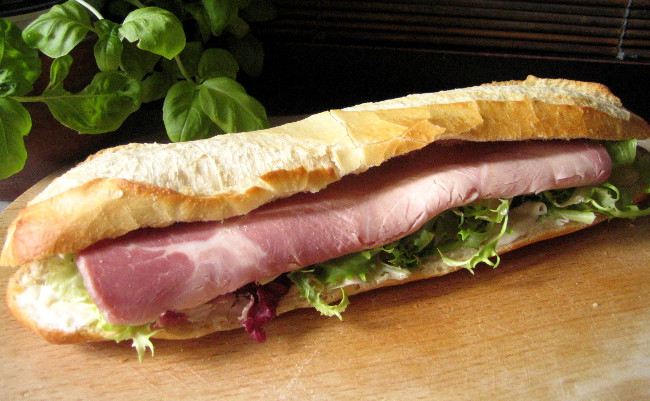 sandwich parisien recette du jambon beurre. Black Bedroom Furniture Sets. Home Design Ideas
