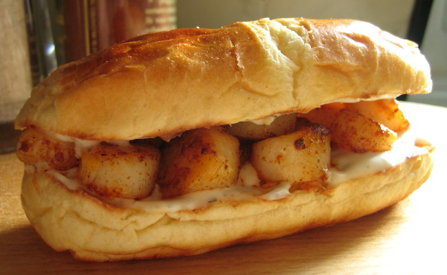 Scallop Sandwich